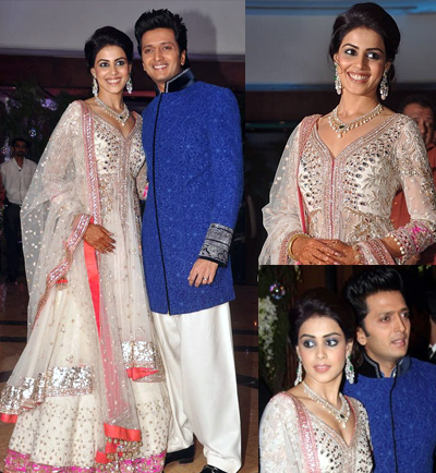 12jan sangeet Report: Riteish & Genelia Big Fat Bollywood Wedding!