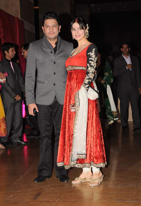 12jan whwn riteish genelia reception07 Who's Hot Who's Not: Riteish & Genelias Wedding Reception