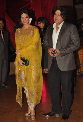 12jan whwn riteish genelia reception10 Who's Hot Who's Not: Riteish & Genelias Wedding Reception
