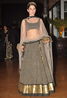 12jan whwn riteish genelia reception13 Who's Hot Who's Not: Riteish & Genelias Wedding Reception