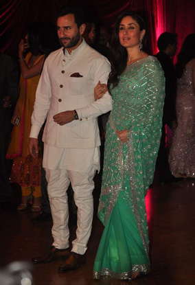 12jan whwn riteish genelia reception14 Who's Hot Who's Not: Riteish & Genelias Wedding Reception