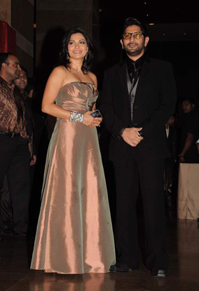 12jan whwn riteish genelia reception16 Who's Hot Who's Not: Riteish & Genelias Wedding Reception