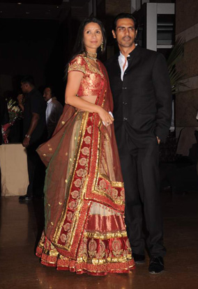12jan whwn riteish genelia reception17 Who's Hot Who's Not: Riteish & Genelias Wedding Reception
