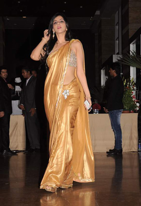 12jan whwn riteish genelia reception18 Who's Hot Who's Not: Riteish & Genelias Wedding Reception