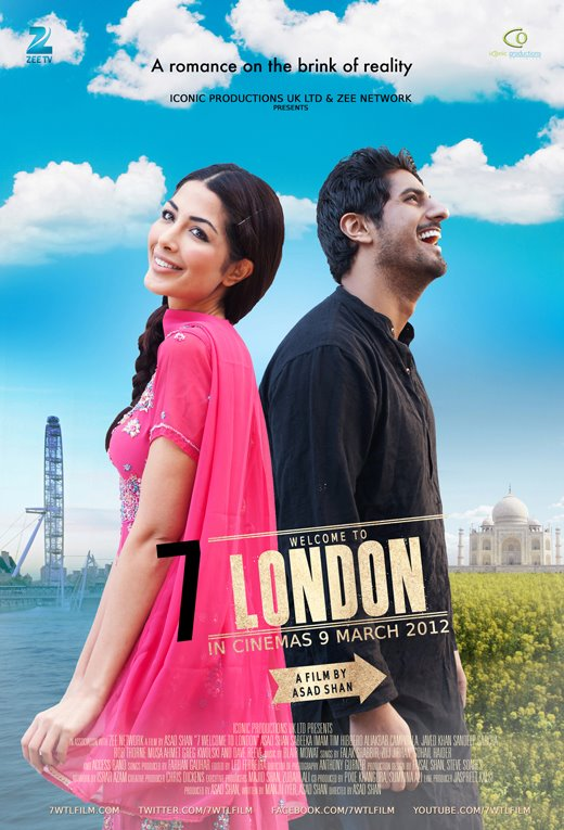 7wtl Zee Network presents British Hindi romantic thriller 7 Welcome To London