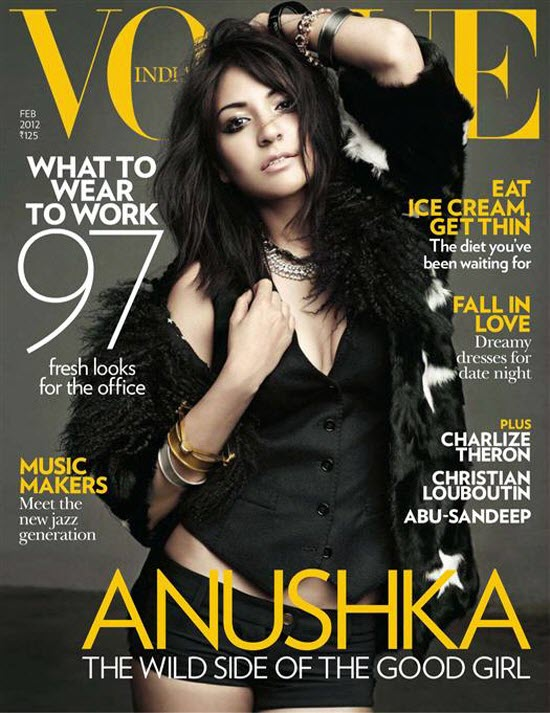 anushka sharma vogue india magazine photoshoot images 02 Anushka Sharma: Hot & Sexy