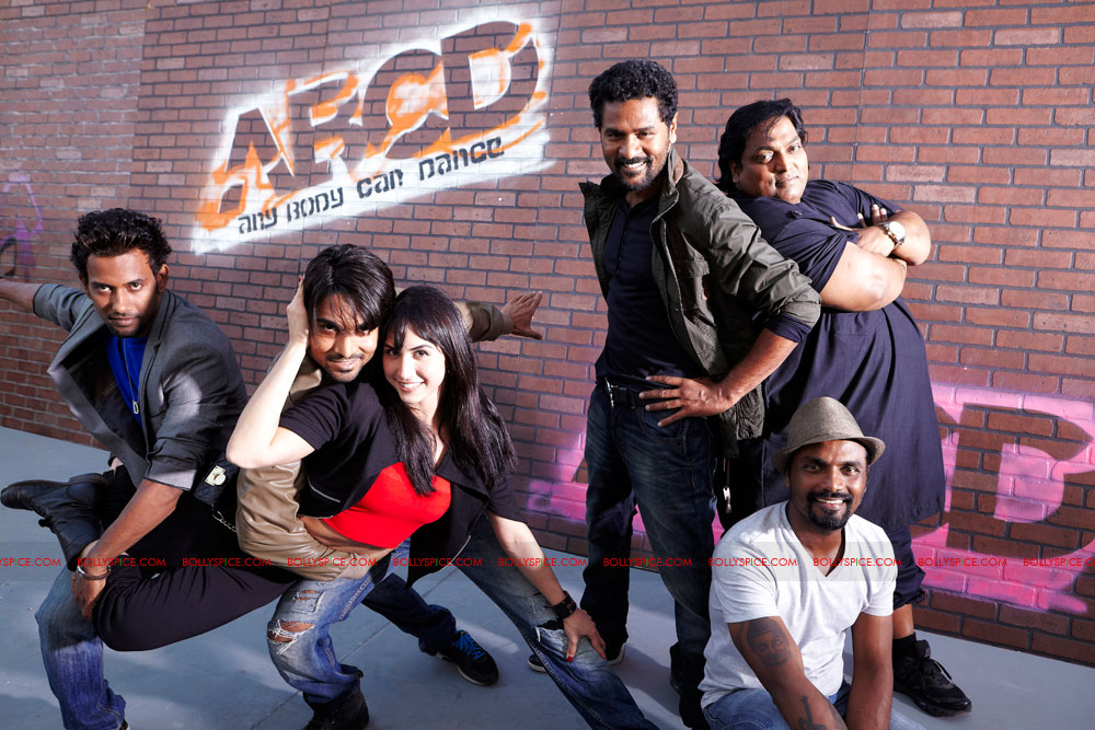 12mar ABCD 3Dmovie In ABCD everybody dances better than Prabhu Deva
