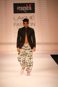 12mar LFW masaba shivam01 200x300 Masaba and Shivam Narresh showed diverse edgy collections at Lakmé Fashion Week