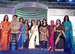 12mar LWDA02 300x215 Vidya Balan wins at Lavasa Womens Drive Awards 2012!