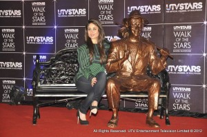 12mar UtvStars WOF01 300x199 Bollywood gets its own Walk of Fame