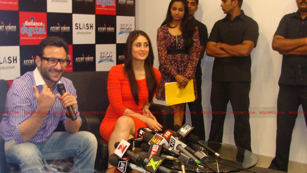 12mar agentvinodPC19 BollySpice at Agent Vinod Press Conference