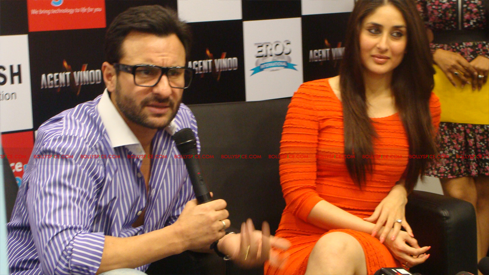 12mar agentvinodPC24 BollySpice at Agent Vinod Press Conference