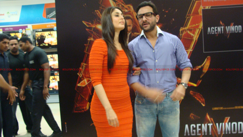 12mar agentvinodPC27 BollySpice at Agent Vinod Press Conference