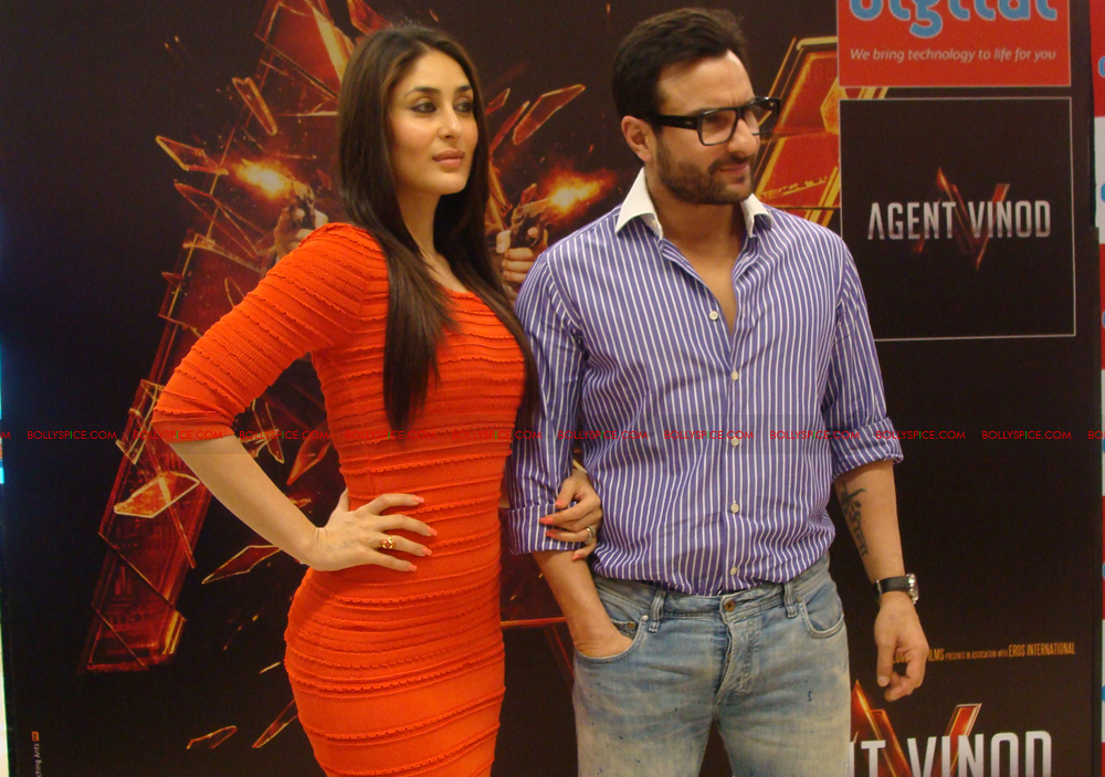 12mar agentvinodPC28 BollySpice at Agent Vinod Press Conference