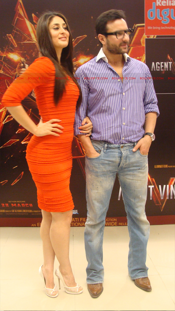 12mar agentvinodPC29 BollySpice at Agent Vinod Press Conference