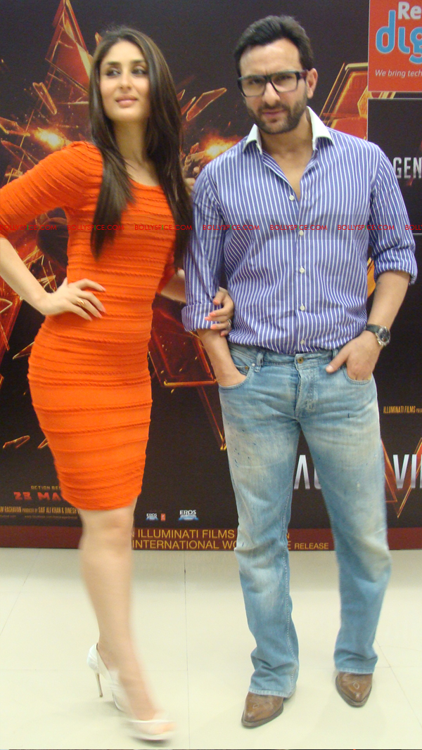 12mar agentvinodPC30 BollySpice at Agent Vinod Press Conference