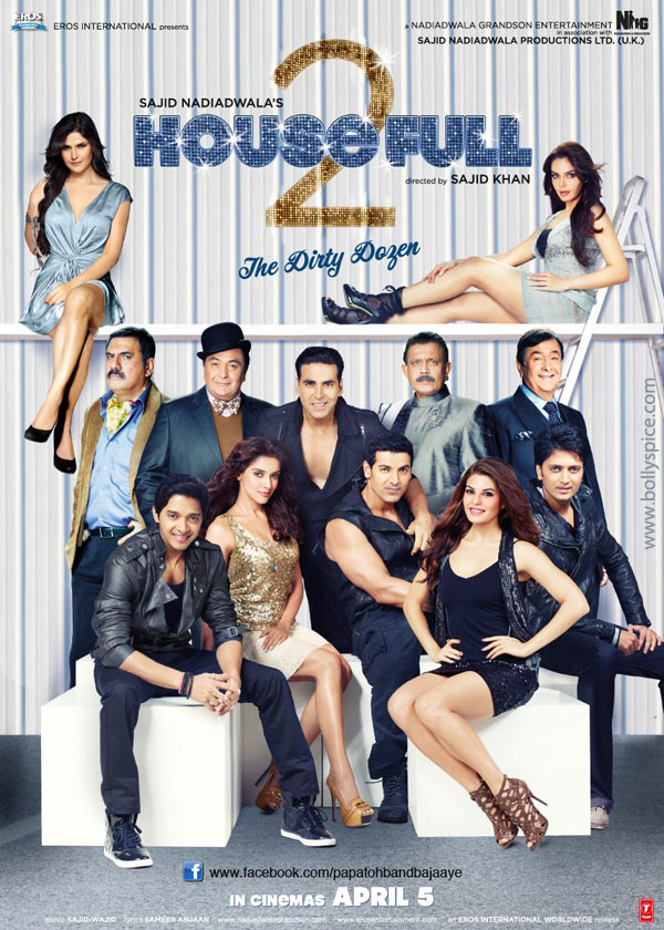 12mar housefull2 musicreview Housefull 2 Music Review