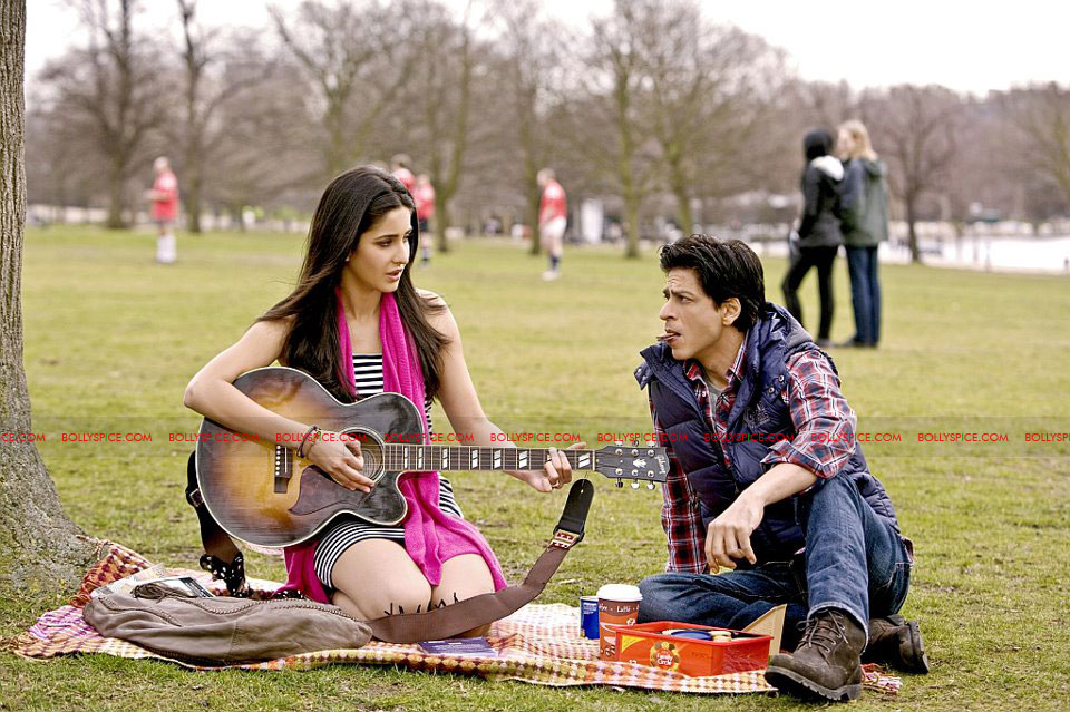 12mar katrina srk film Two New Looks at Shah Rukh Khan and Katrina Kaif in Yash Chopras film!