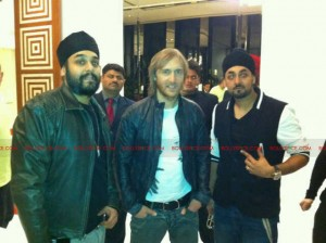 12mar rdb david guetta 300x224 Bollywood Hit Makers RDB meet up with Superstar DJ David Guetta to talk musical collaboration!