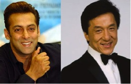 12mar salmankhan jackiechan Salman Khan and Jackie Chan to share screen space