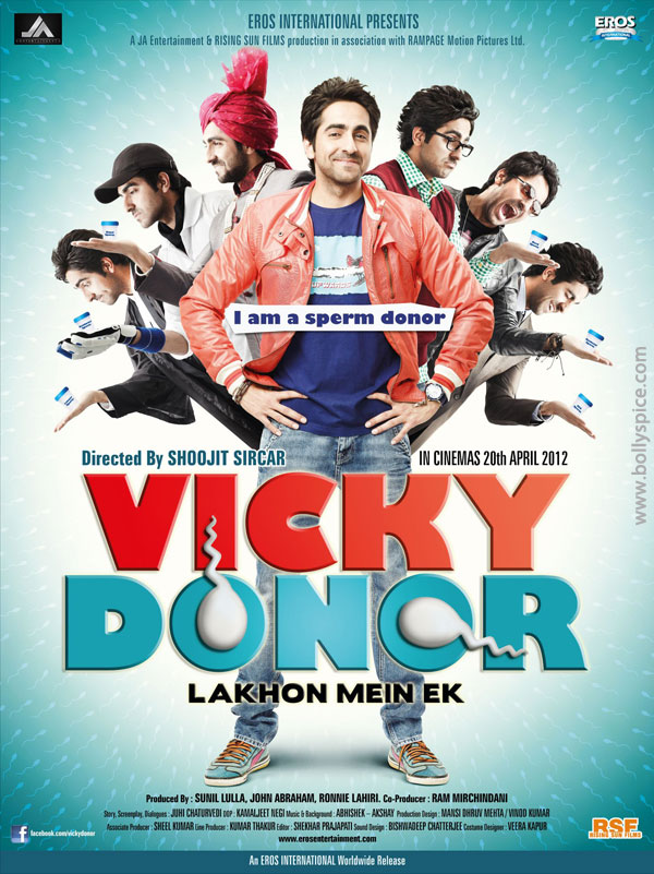12mar vickydonorposter01 John Abraham at the launch of his maiden production Vicky Donor!