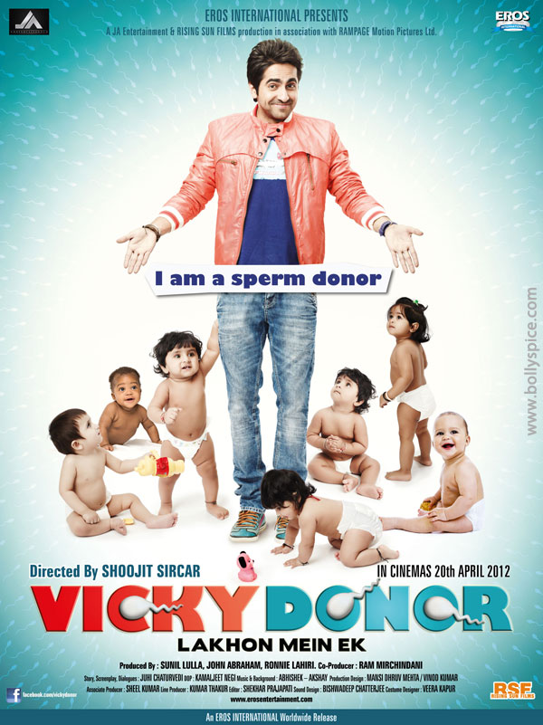 12mar vickydonorposter02 John Abraham at the launch of his maiden production Vicky Donor!