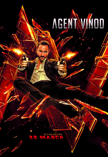 A4 Glass Broken 1 Cool Agent Vinod Dialog Promos and Posters!