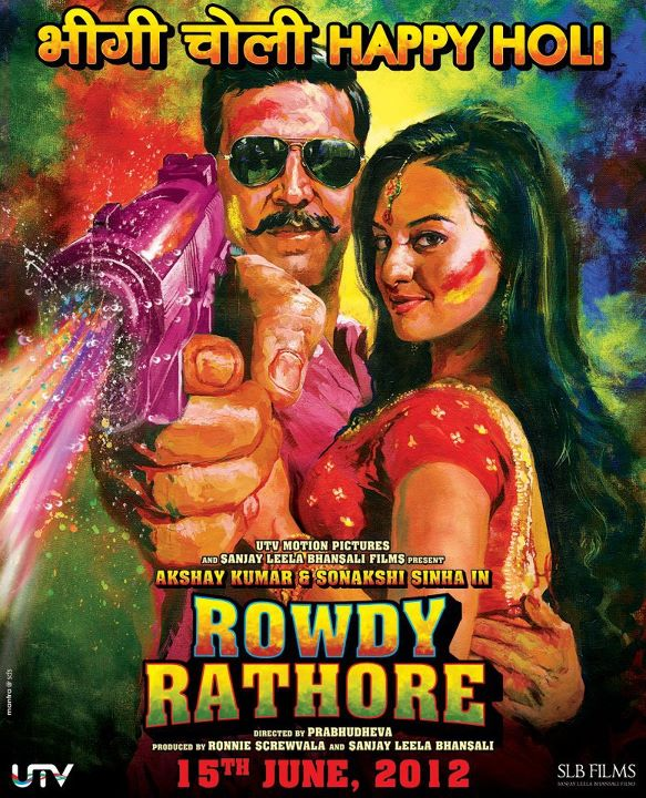 rowdyrathorholi02 Rowdy Rathore says Happy Holi!