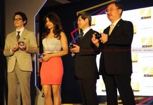 12apr Priyanka coolpix1 300x205 Priyanka Chopra unveils new COOLPIX range