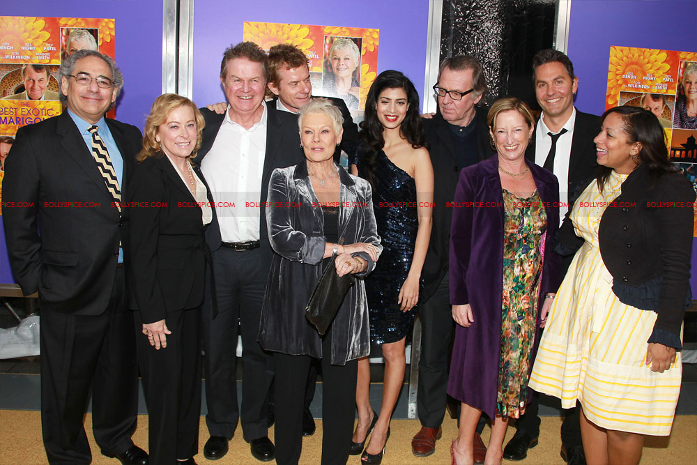 12apr TBEMH NYPremiere30 The Best Exotic Marigold Hotel Red Carpet event in New York
