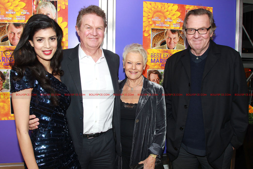 12apr TBEMH NYPremiere32 The Best Exotic Marigold Hotel Red Carpet event in New York