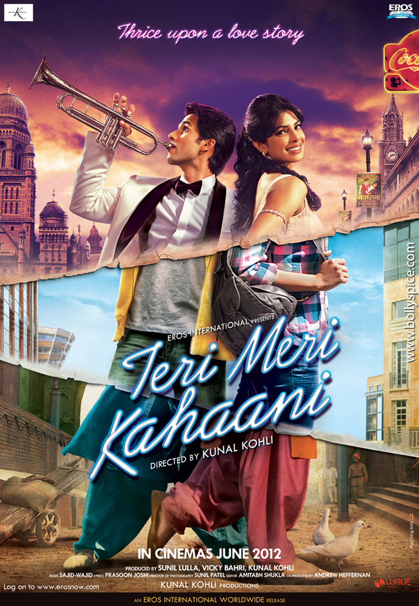 12apr TMK poster No similarity between Teri Meri Kahaani and Three Times