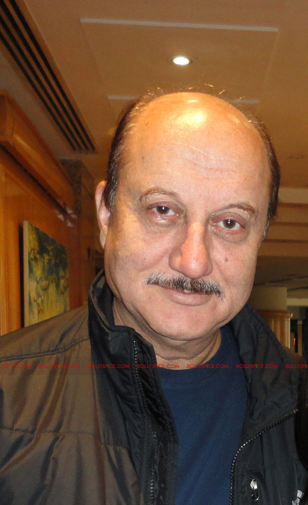 12apr anupam intrvw01 If you enjoy what you are doing then the people will enjoy it.   Anupam Kher