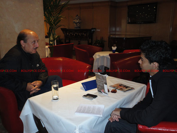 12apr anupam intrvw04 If you enjoy what you are doing then the people will enjoy it.   Anupam Kher