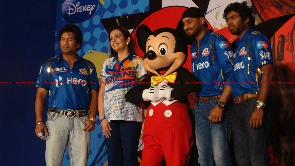 12apr disney mumbaiindians12 Mumbai Indians launch Disney consumer products