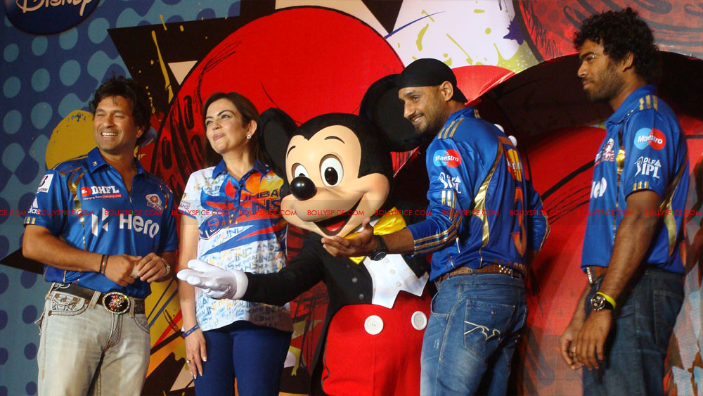 12apr disney mumbaiindians18 Mumbai Indians launch Disney consumer products