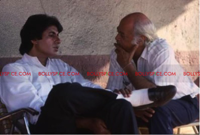 12apr exclusive Agneepath1990 Exclusive picture from the sets of Agneepath (1990)