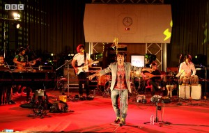 12apr kailash BBC02 300x191 Kailash Kher and Kailasa make history at BBC Maida Vale Studios, London