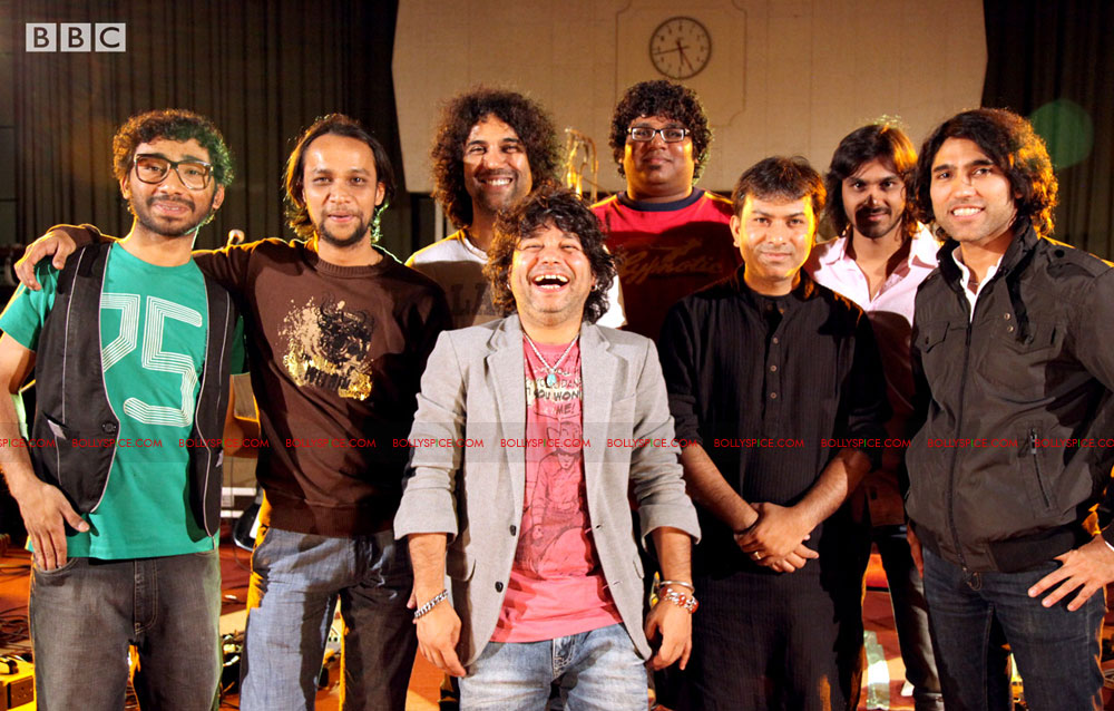 12apr kailash BBC03 Kailash Kher and Kailasa make history at BBC Maida Vale Studios, London