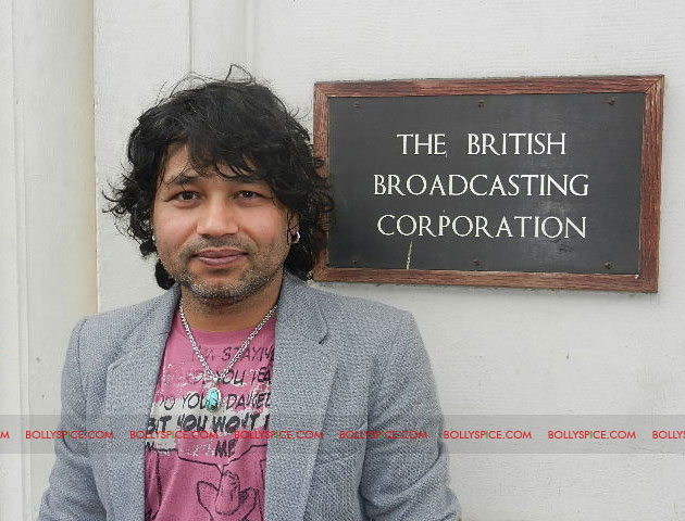 12apr kailash BBC04 Kailash Kher and Kailasa make history at BBC Maida Vale Studios, London