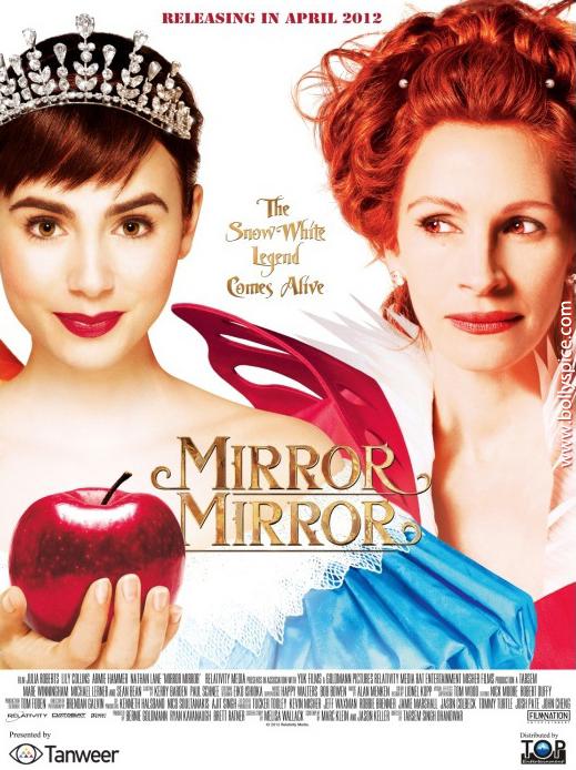 12apr mirror mirror poster01 Julia Robert's Mirror Mirror to release in India