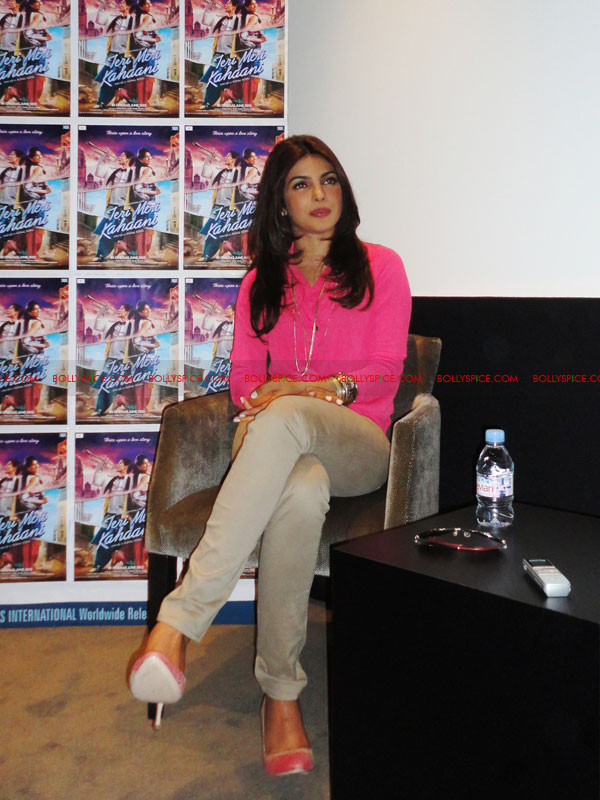 12apr priyanka pressconf TMK I want every Indian person or everyone who loves India, to be able to relate to the music I am making   Priyanka Chopra