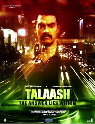 12apr talaash poster No clash at the box office between Talaash and Shootout at Wadala