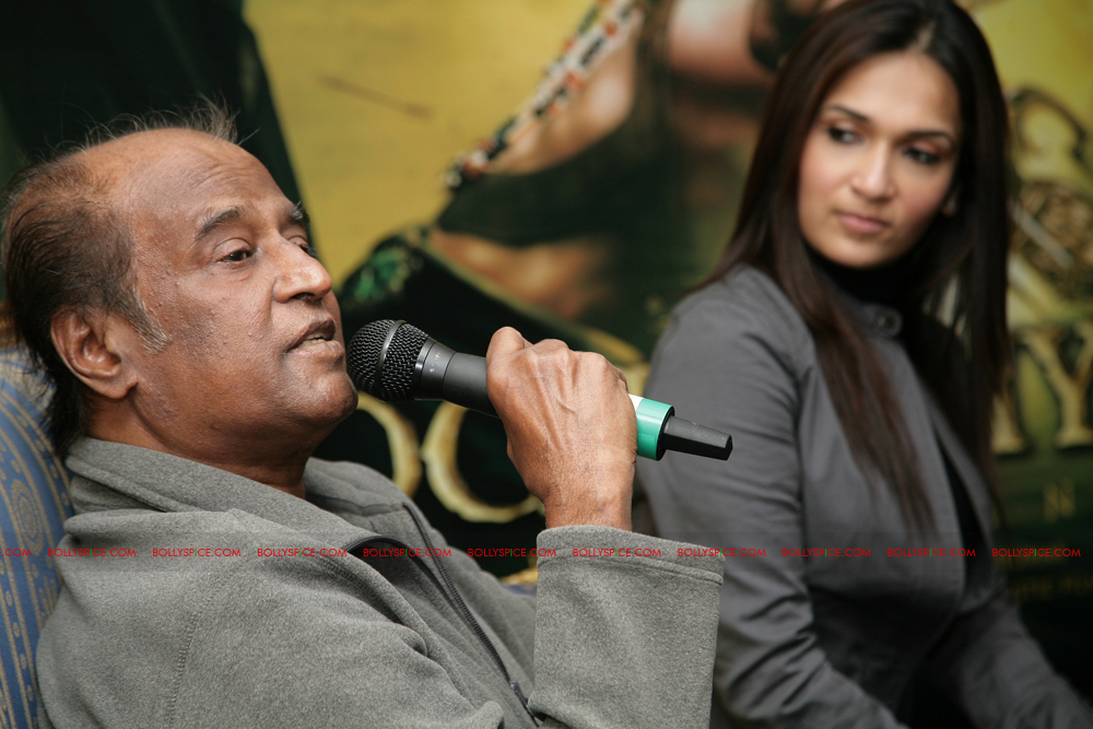 12mar kochadaiyaan media01 Rajnikanth and AR Raman at the Kochadaiyaan launch UK in Pictures!