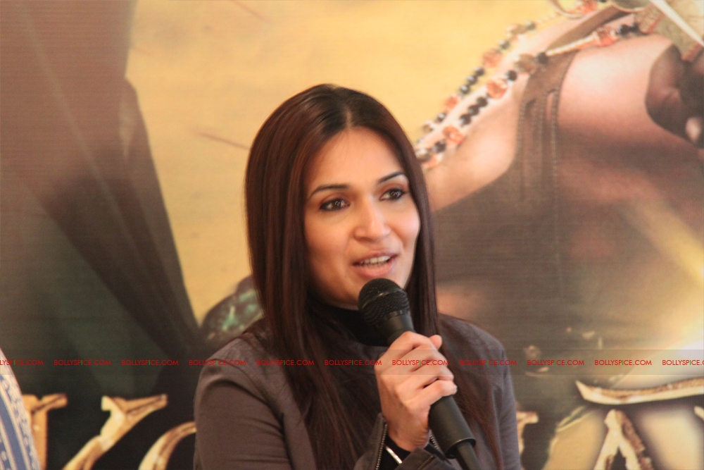 12mar kochadaiyaan medialaunch11 Rajnikanth and AR Raman at the Kochadaiyaan launch UK in Pictures!