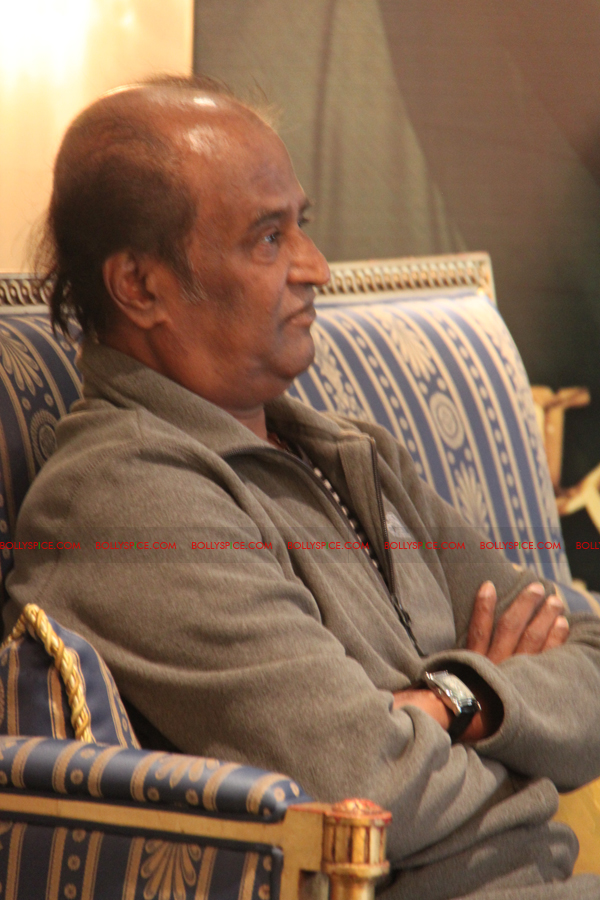 12mar kochadaiyaan medialaunch15 Rajnikanth and AR Raman at the Kochadaiyaan launch UK in Pictures!