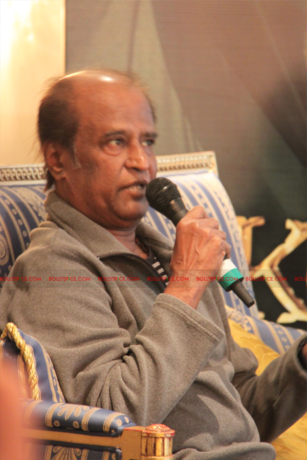 12mar kochadaiyaan medialaunch18 Rajnikanth and AR Raman at the Kochadaiyaan launch UK in Pictures!