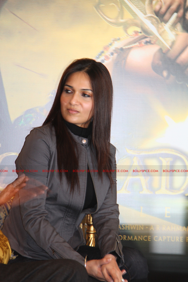 12mar kochadaiyaan medialaunch20 Rajnikanth and AR Raman at the Kochadaiyaan launch UK in Pictures!