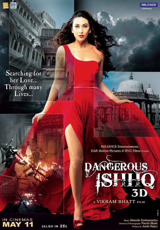 dangerousishq poster 01 Karisma Kapoors Dangerous Ishhq Unveiled!