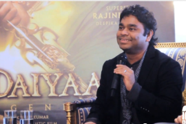 kochadaiyaan press con rahman